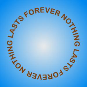 nothinglastsforever-circle